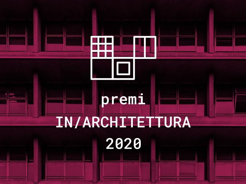 Premi In/Architettura: aggiornamento