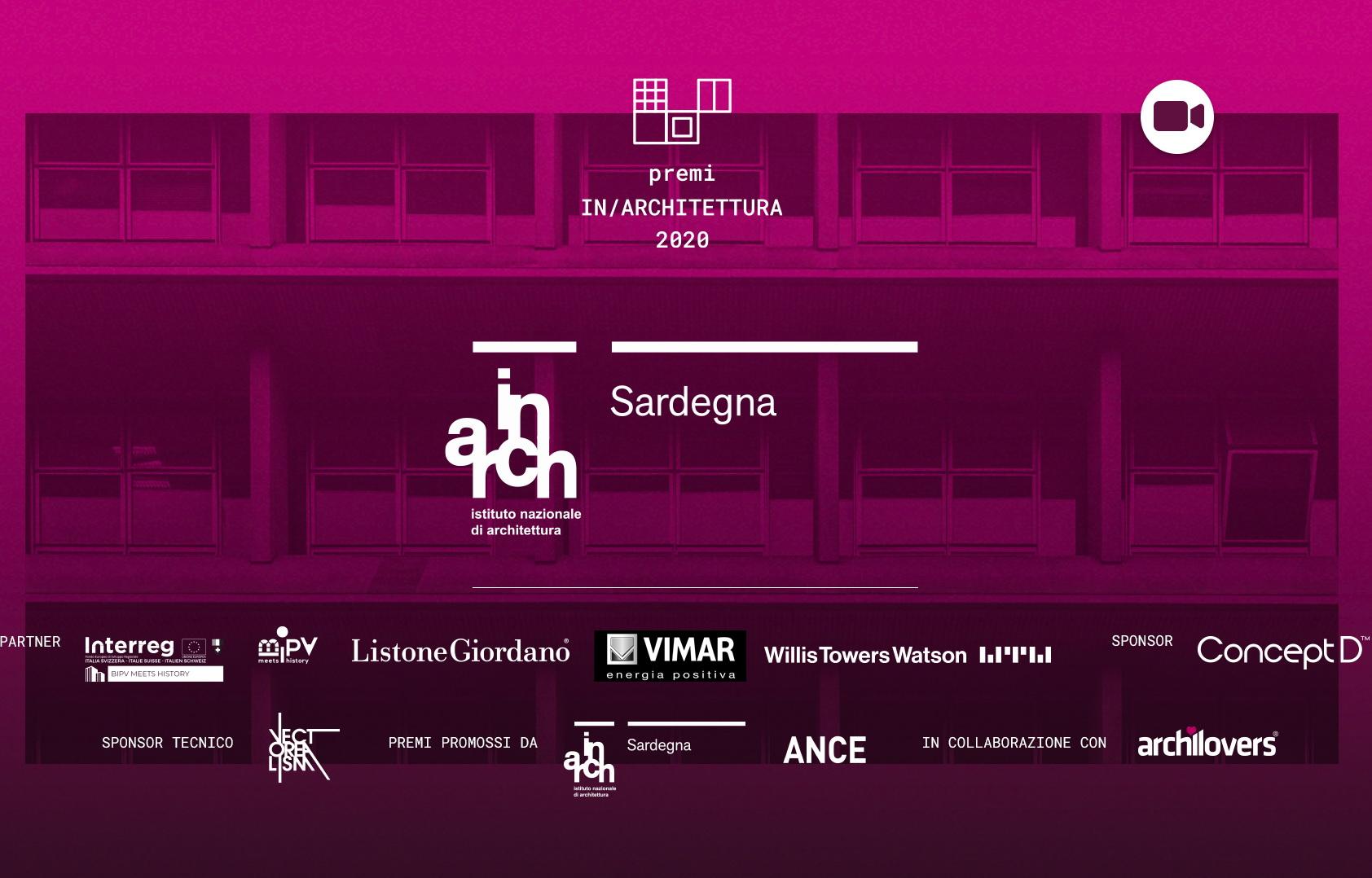 Video integrale – Premi In/Architettura 2020 Sardegna